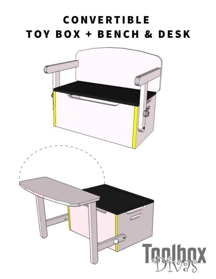 Permissible Woodworking Furniture Butcher Blocks Woodworkingmachines Woodworkingprojectsentertainmentcen Toy Storage Boxes Diy Kids Desk Functional Furniture