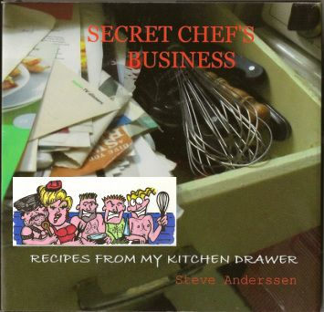 Picture; my first cook book