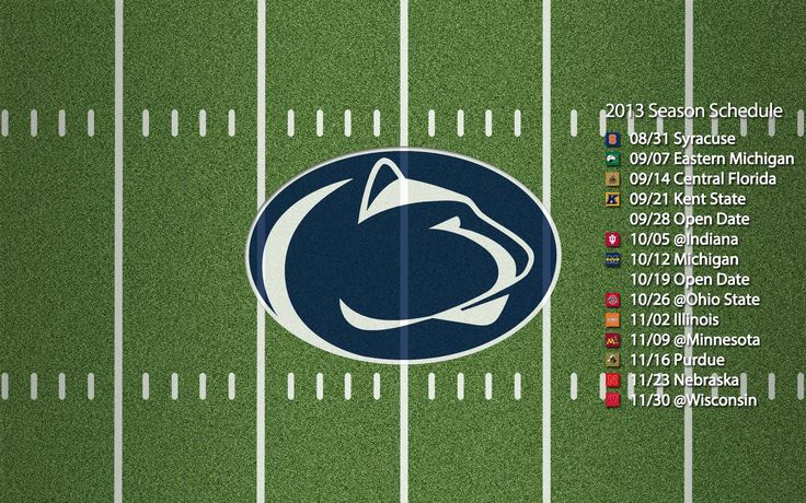 Penn State Football Schedule - Google Search
