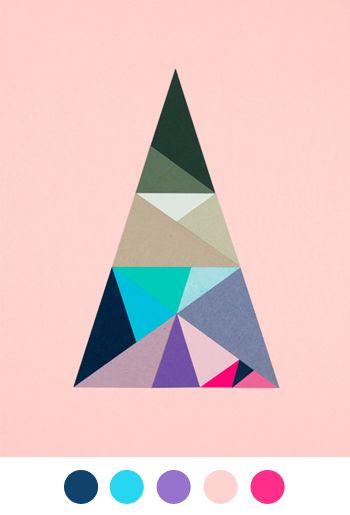 Triangles in triangles in triangles