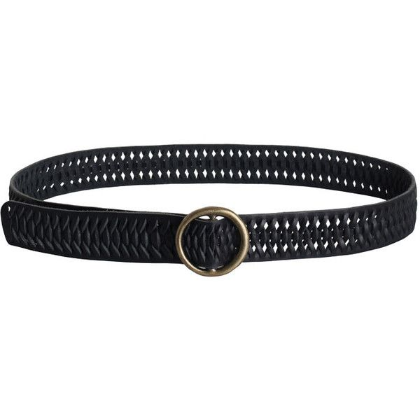 ZIMMERMANN Weave Buckle Belt (£57) ❤ liked on Polyvore featuring accessories, belts, braided belts, circle belt, buckle belt, circle buckle belt and zimmermann