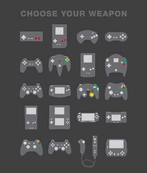 Choose wisely (With images) Video game controller, Games