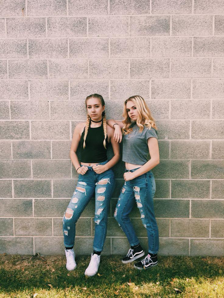 best friends•ripped jeans• insta•@emmychris41