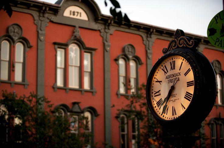 Broadway in Saratoga Springs, New York