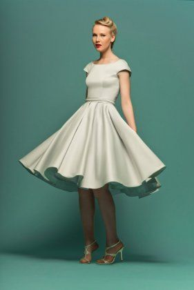 Tea Length Dresses Preppy