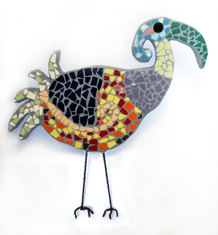 Collaborative mosaic artwork by IDAS membership, created during a 2013 residency with Michelle Getzlaf.