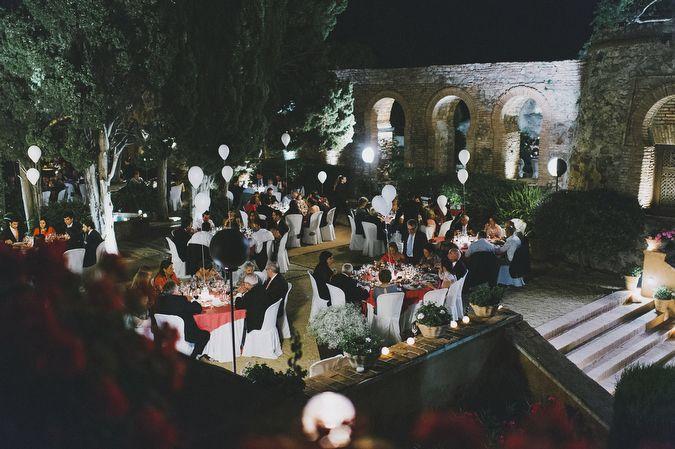 Casarse en exteriores en Castillo