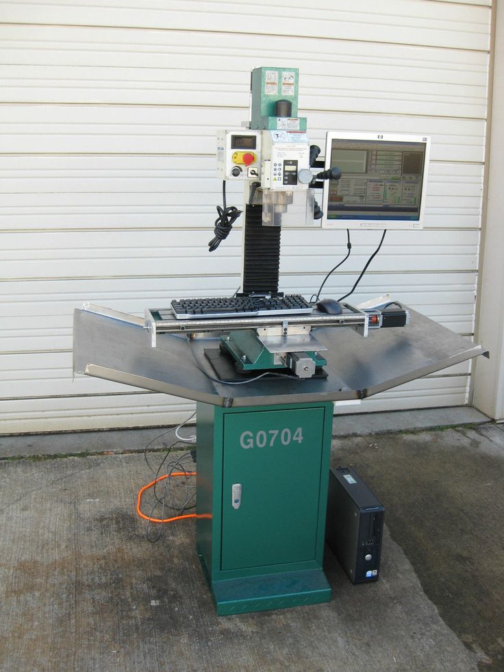 New Cnc Milling Machine Grizzly G0704 With Spindle Control