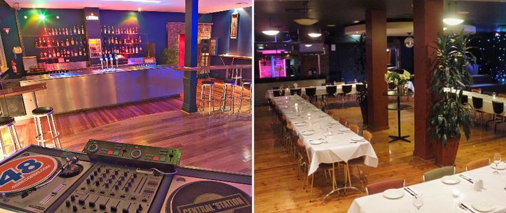 Corporate party venues.