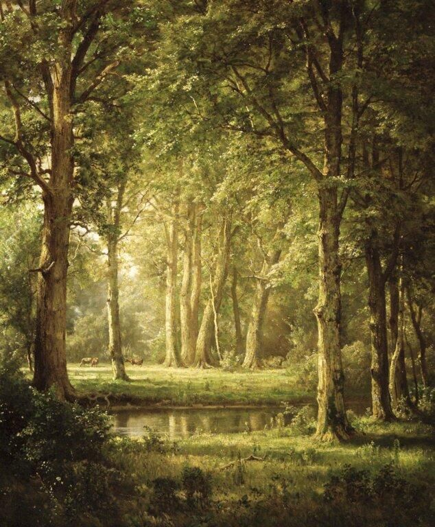 I love the light in this painting...