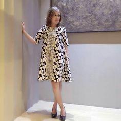 Batik Dress - Semi Formal