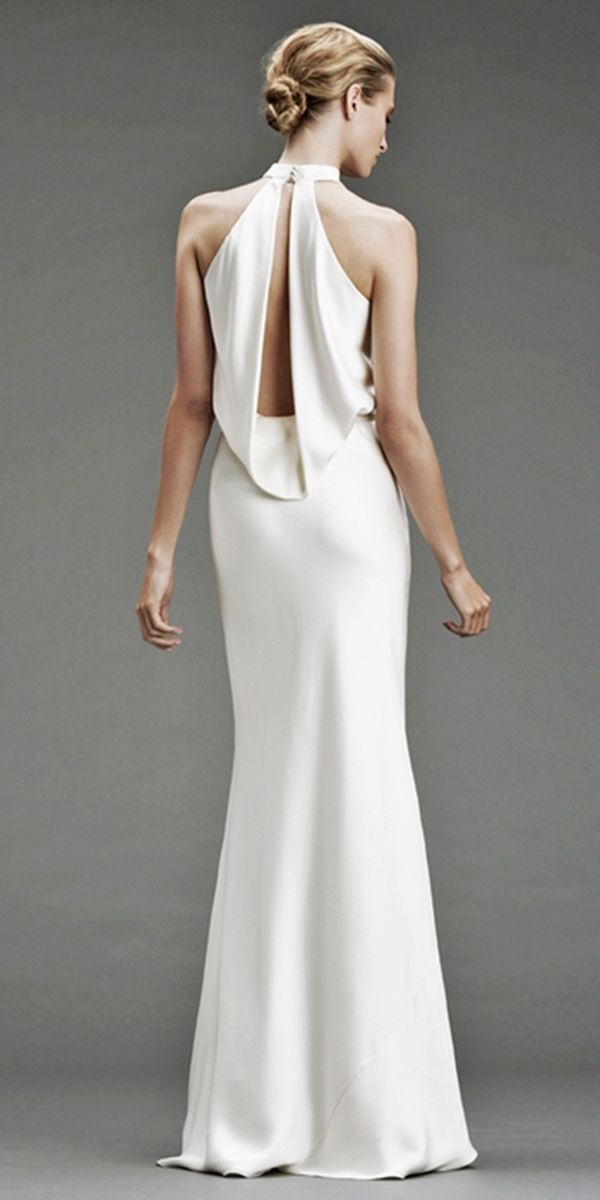 Excellent And Elegant Silk Wedding Dresses ★ #bridalgown #weddingdress