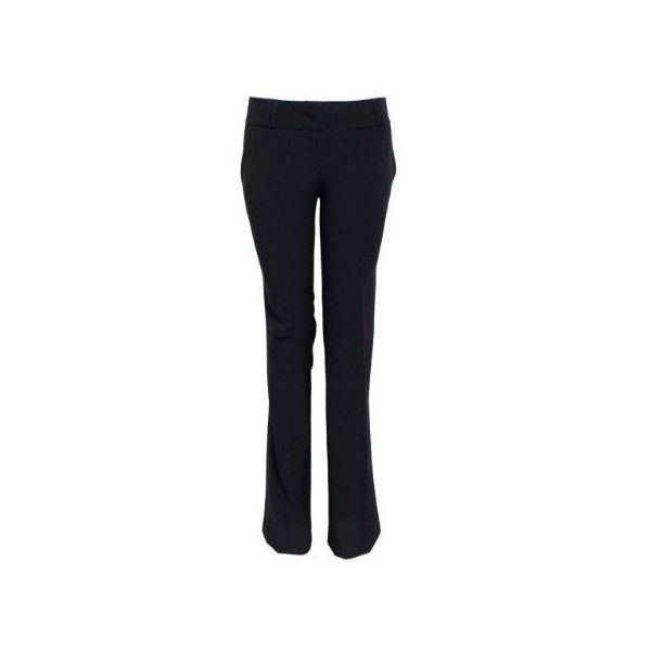 Black Ladies Business Slacks with 4 Pockets (155 NOK) ❤ liked on Polyvore featuring pants, bottoms, dress pants, dress trousers, suit trousers, slacks pants and suit pants