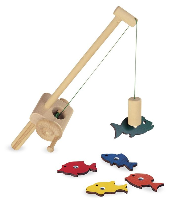 Wooden Fishing Set from Pure Play Kids