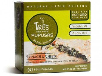 Tres Papusas  What's a Pupusa  Originating from El Salvador, a pupusa is a stuffed corn tortilla filled with delicious goodness.