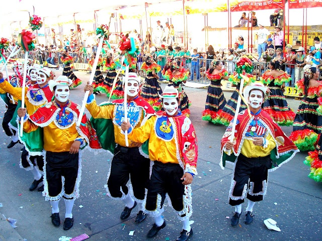 Carnaval Barranquilla Colombia danza del Garabato