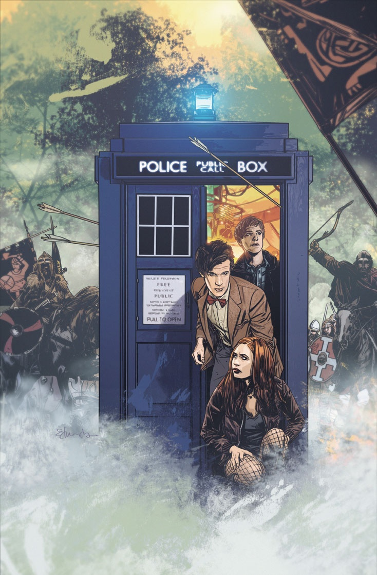 Doctor Who by Tommy Lee Edwards