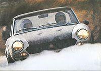 Depliant. Registro Nazionale Fiat 124 Sport Spider