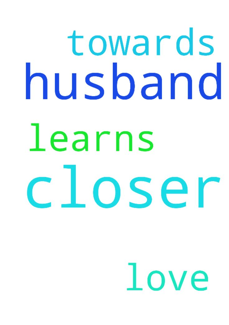 I pray that we me and my husband get closer and he - I pray that we me and my husband get closer and he learns to love me and me too towards him . Thank you  Posted at: https://prayerrequest.com/t/xde #pray #prayer #request #prayerrequest