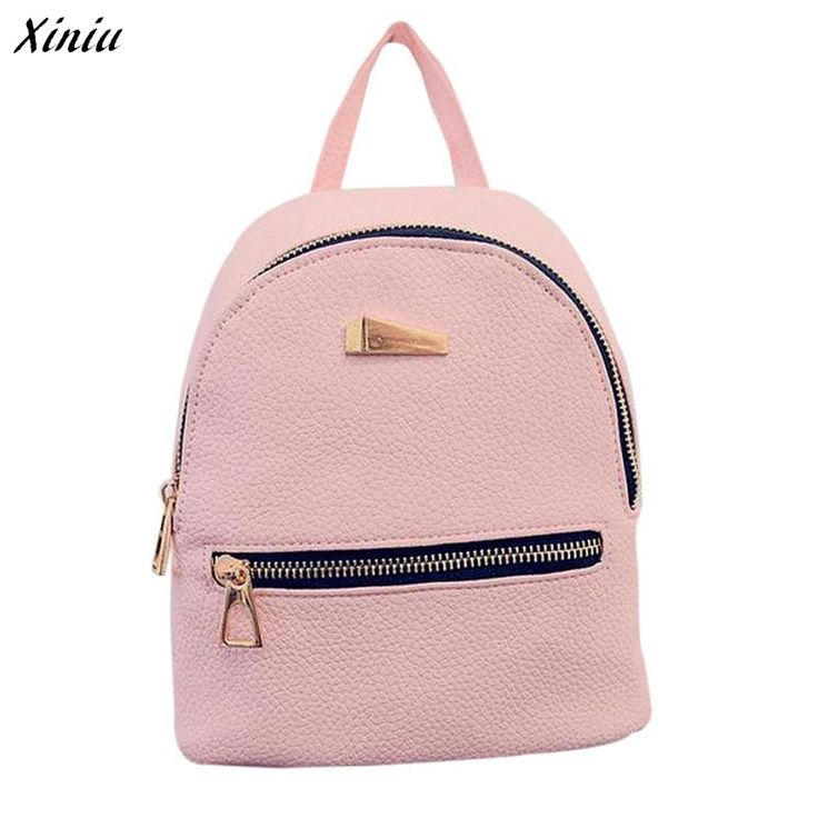Xiniu Backpack Women Zipper Pocket Solid Color Backpacks For Teenage Girls Rucksack Women Mochilas Femininas #2811 #>=#>=#>=#>=#> Click on the pin to check out discount price, color, size, shipping, etc. Save and like it!