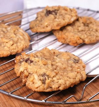 Ranger Cookies (Rice Krispies, coconut, oats, nuts, chocolate...these were one of my favorite cookies when I was a kid!)