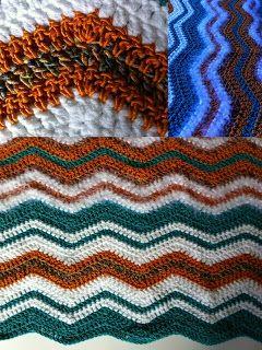 zig zag deken haken - crochet blanket (gratis Nederlands haakpatroon)
