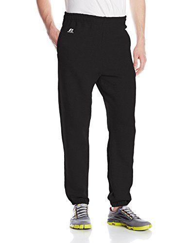 Russell Athletic Men's Dri-Power Closed-Bottom Fleece Pocket Pant