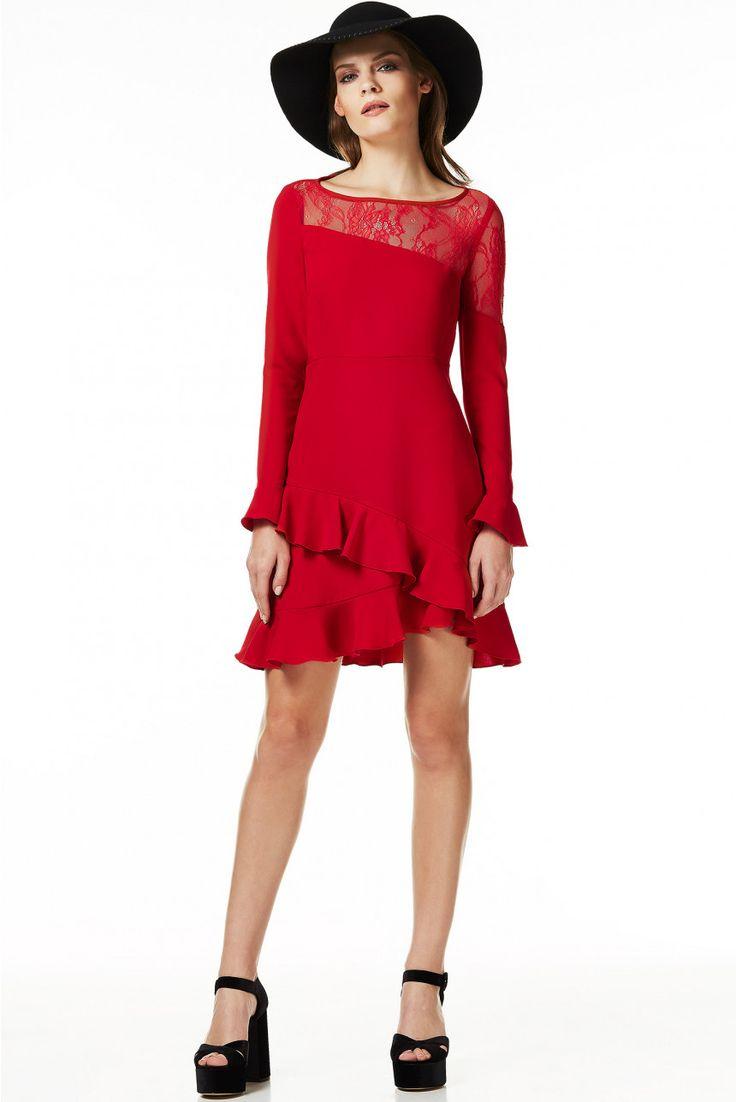 Vestito rosso liu jo cocktail