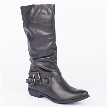 Jones Bootmaker Spires Knee Length Boots Jones Bootmaker SPIRES is a Ladies casual slouch leg Knee length boot with frac12