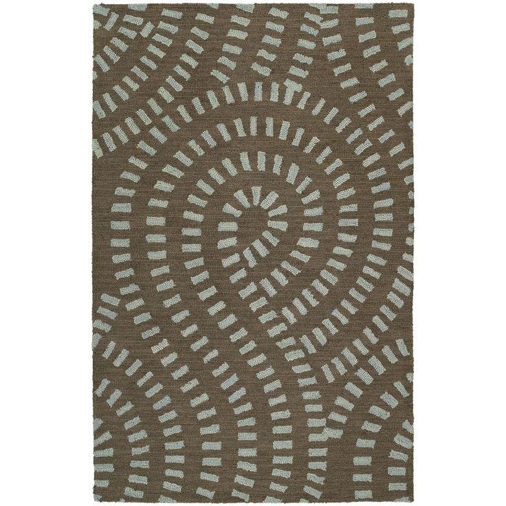 Kaleen Rugs Hand-tufted Zoe Blue Wool Rug (8' x 10') (8'0 x 10'0), Size 8' x 10'