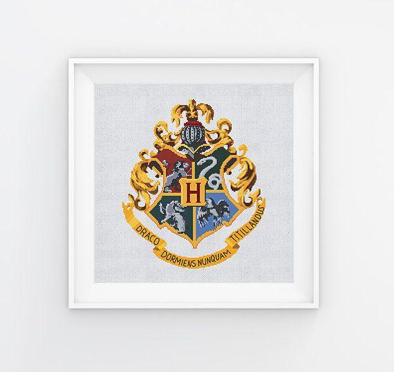 Hogwarts Cross Stitch Pattern Harry Potter Cross Stitch