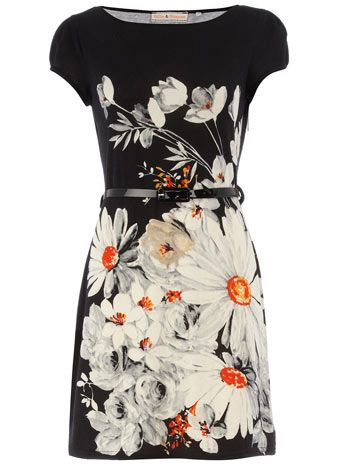 Dorothy Perkins. I want to wear this with a little orange clutch and sky-high strappy orange shoes.