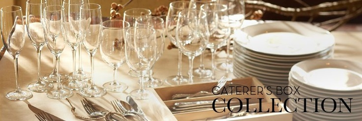 White Porcelain Dishes & Caterers Box Collection | Pottery Barn