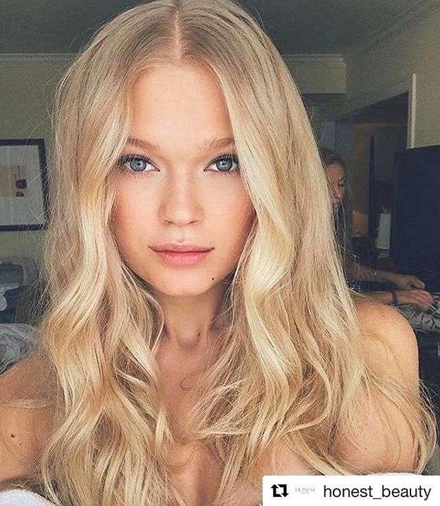 #Repost @honest_beauty | If you look up the definition of gorgeous, effortless waves, we're pretty sure this is the picture that'll show up. @Jennifer_Yepez used our Volumizing Spray and Heat Protectant on @vitasidorkina for major hair goals. Haircare available at @UltaBeauty or HonestBeauty.com