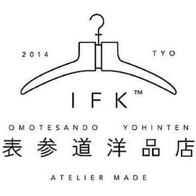 IFK表参道洋品店 logo design