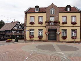Mairie de Souffelweyersheim.