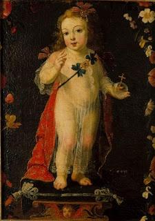 """Josefa d`Óbidos, """"O Menino Jesus Salvador do Mundo"""" (c. 1660-1679, MNAA)."""