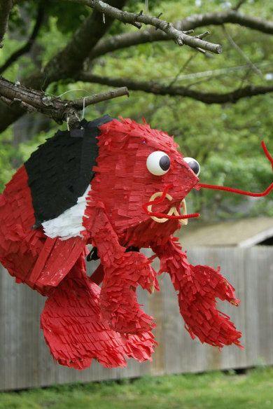 How to make an awesome custom piñata: Diy Crafts, Diy Piñata, Crawfish Boiled Parties Ideas, Diy Pinata, Lobsters Pinata, Birthday Crafts, Diy Birthday, Crafts Diy, Diy Lobsters