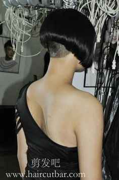 umm No line isn't even and the nape is way too faded like a military induction haircut
