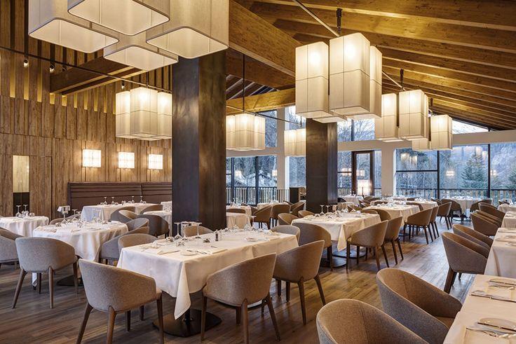 Studio Simonetti · Grand Hotel Courmayeur Mont Blanc, Courmayeur · Architettura italiana