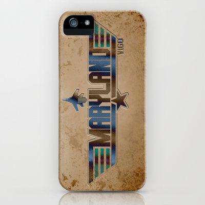 MARYLAND VIGO (Maverick Version) iPhone & iPod Case