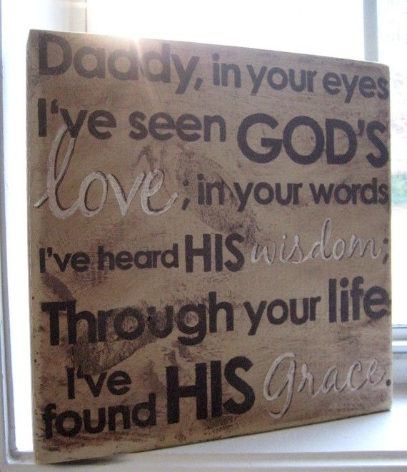 25+ Great Ideas About Fathers Day Verses On Pinterest