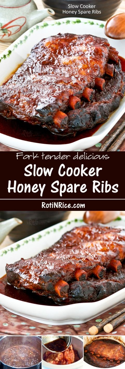 slow cooker ribs recipe cooker honey spare ribs recipe ribs it is and honey 30338