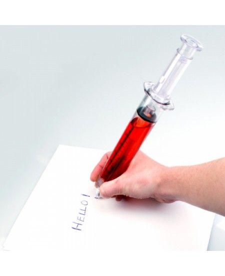 Cu o dimensiune de 29 cm... pixul #seringa va capta atentia oricui cu siguranta --- http://goo.gl/sBmTqI