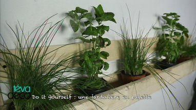 DIY : Une jardinière en palettes                                                                                                                                                                                 Plus