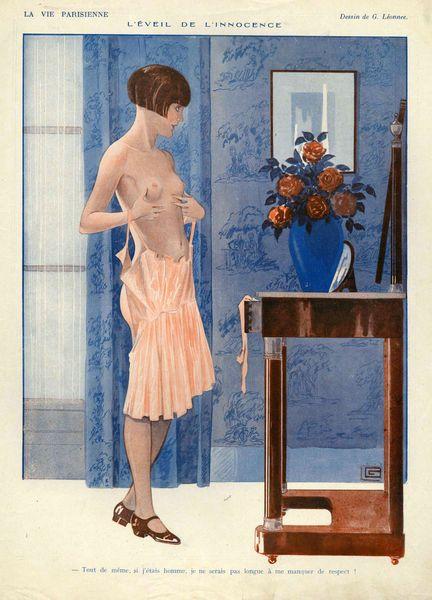 Georges Léonnec (1881 – 1940). La Vie Parisienne, 1925. [Pinned 6-ii-2015]