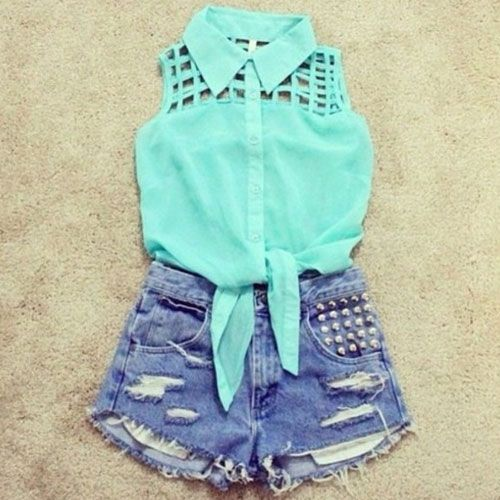 A nice outfit if you are just going to the mall or something