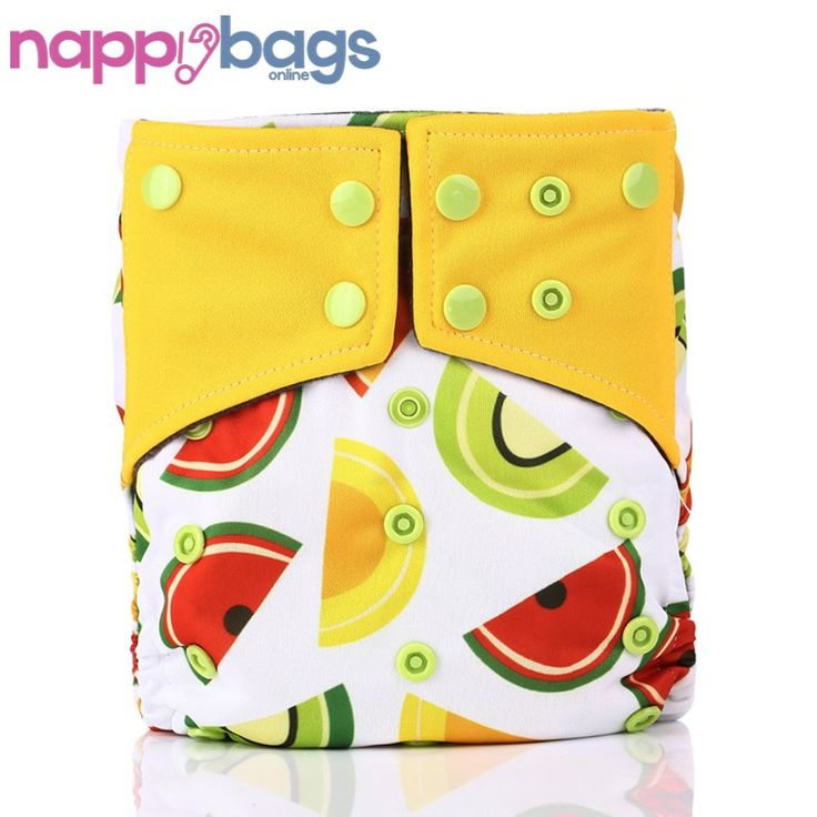Yummy Fruits Bamboo 3 - 36 Mth Waterproof Cloth Nappy //Price: $14.97 & FREE Shipping //     #clothnappies