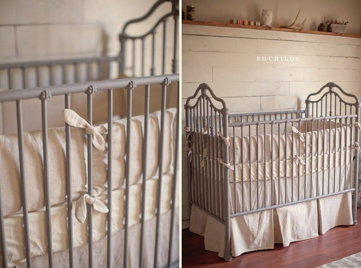 This is the crib the boys have...like it painted! painted wrought iron crib
