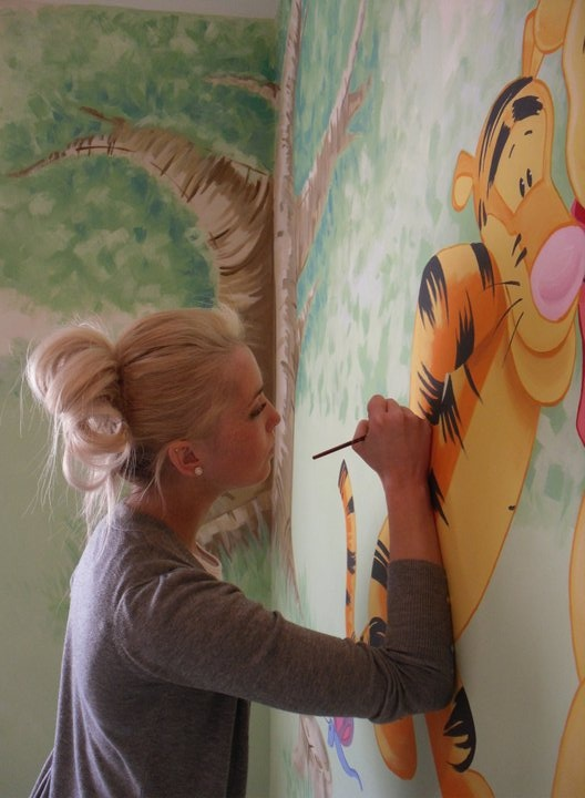 17 best images about winnie the pooh mural on pinterest for Classic winnie the pooh wall mural